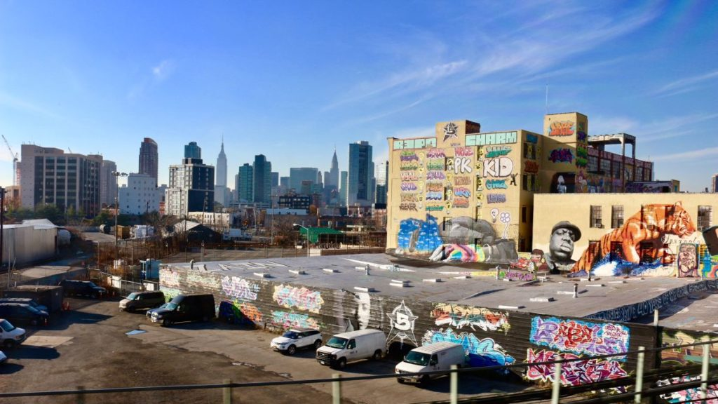 The old 5Pointz before its demolition. Photo by Rachel Fawn.