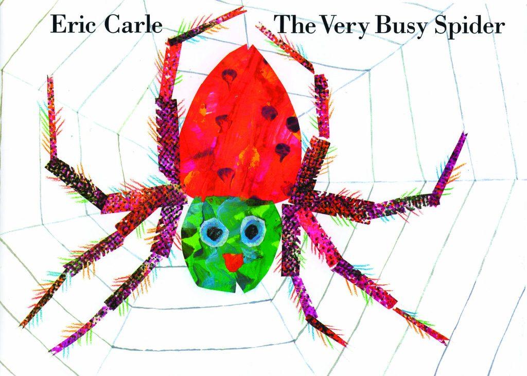 Eric Carle <em>The Very Busy Spider</em>. Courtesy of Penguin Random House.
