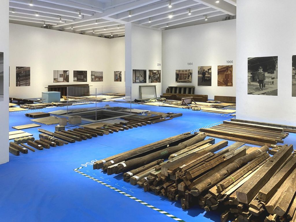 """Japanese Pavilion, """"Co-ownership of Action: Trajectories of Elements"""" at the Venice Biennale. Photo courtesy of the Japan Foundation."""