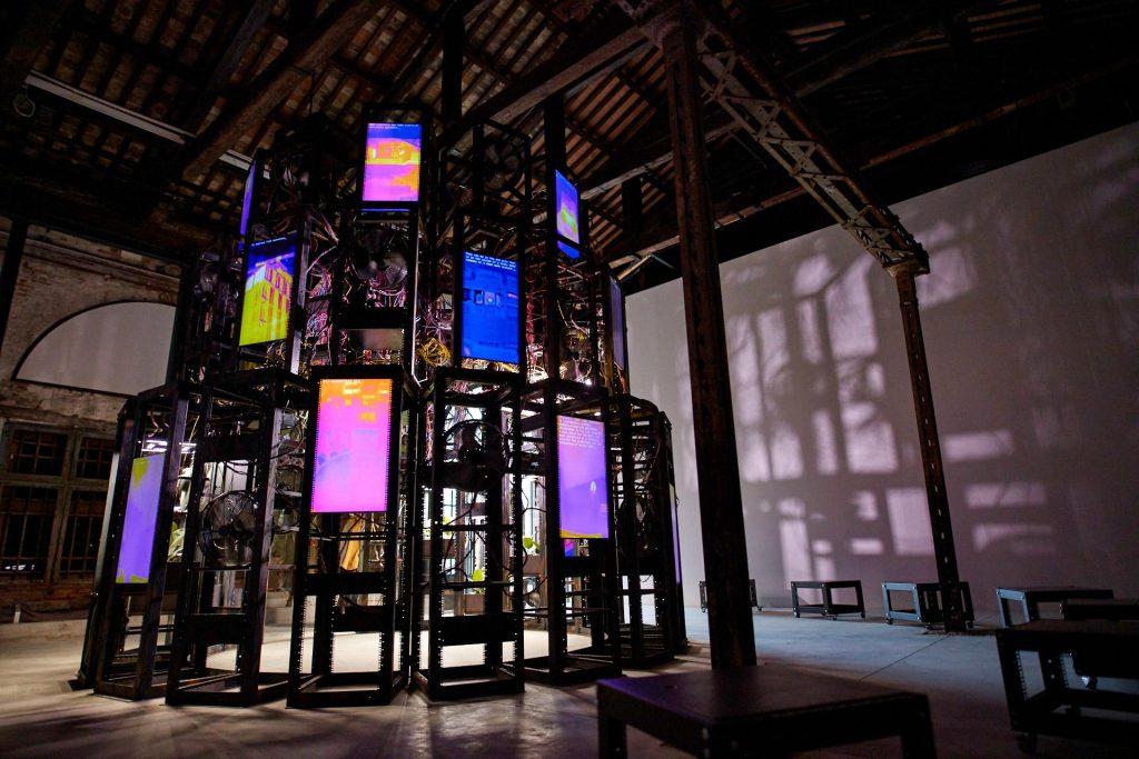 "Irish Pavilion, ""Entanglement"" at the Venice Biennale. Photo courtesy of Culture Ireland."
