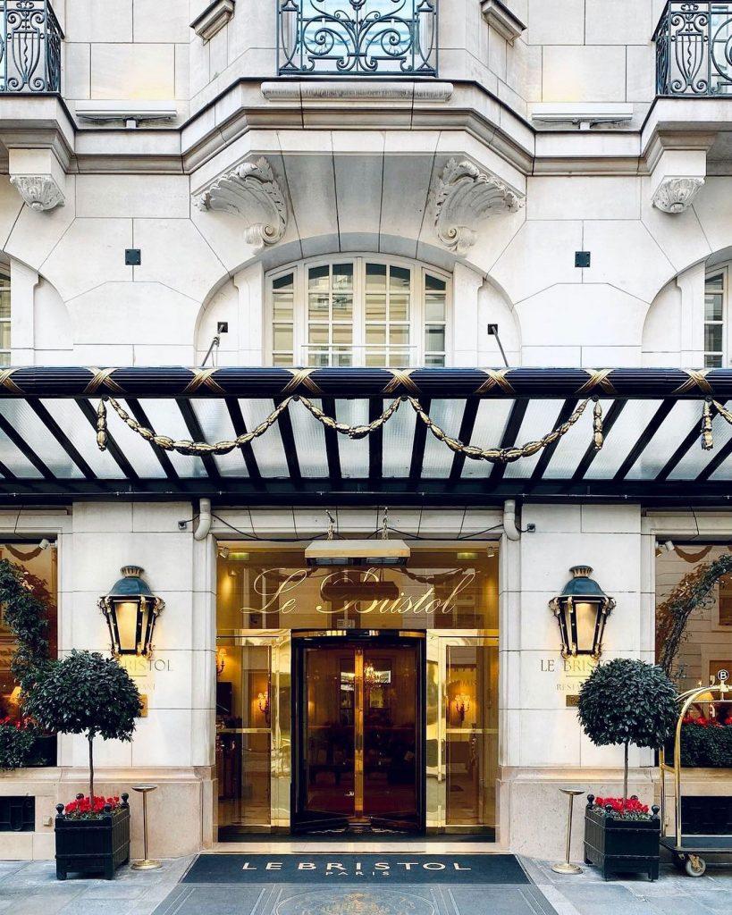 Hôtel le Bristol in Paris, courtesy of Hôtel le Bristol.