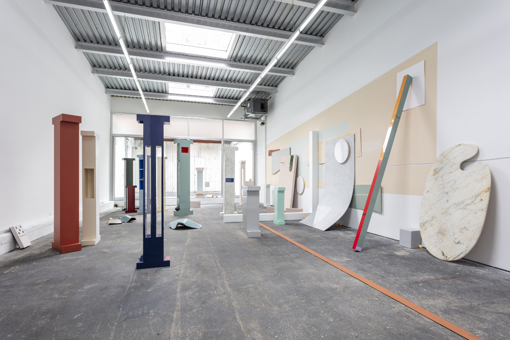 """An installation view of Katie Bell: Arena"""" at Spencer Brownstone. Photo courtesy of Spencer Brownstone Gallery."""