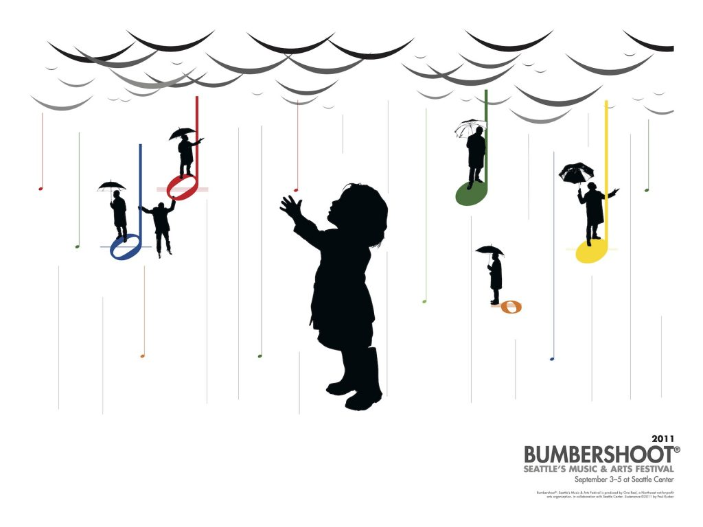 Paul Rucker designed posted for Bumbershoot 2011.