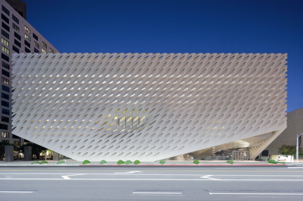 The Broad, Los Angeles. Photo by Iwan Baan, courtesy of the Broad, Los Angeles.