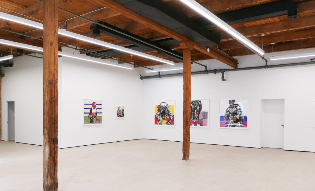 "Installation view, ""Clotilde Jiménez: The Contest"" Courtesy of Mariane Ibrahim."