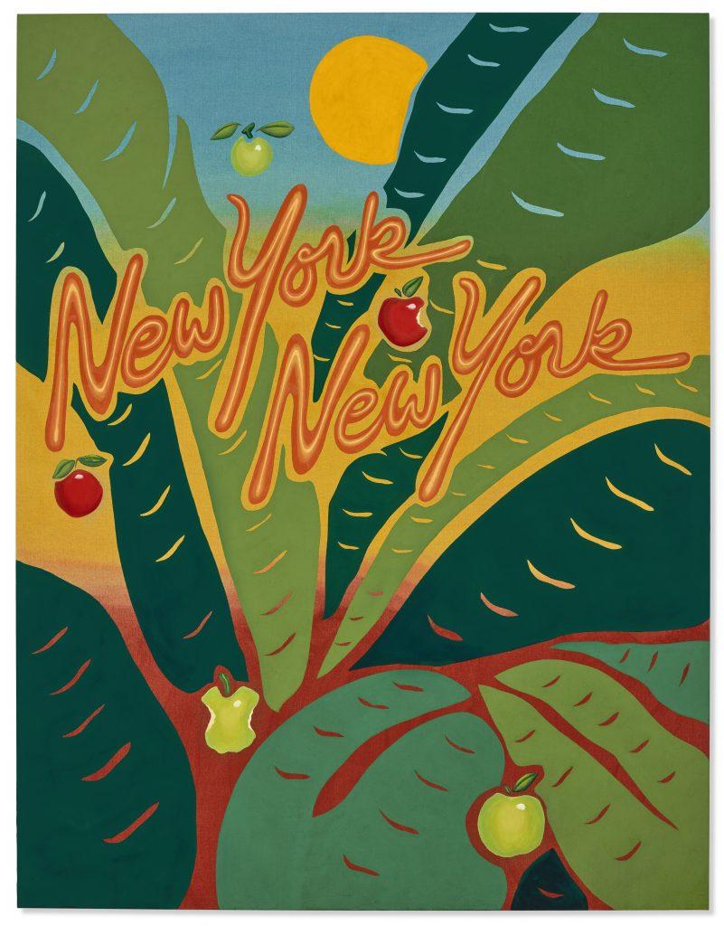 Joel Mesler, New York, New York (2021). Courtesy of Christie's Images, Ltd.