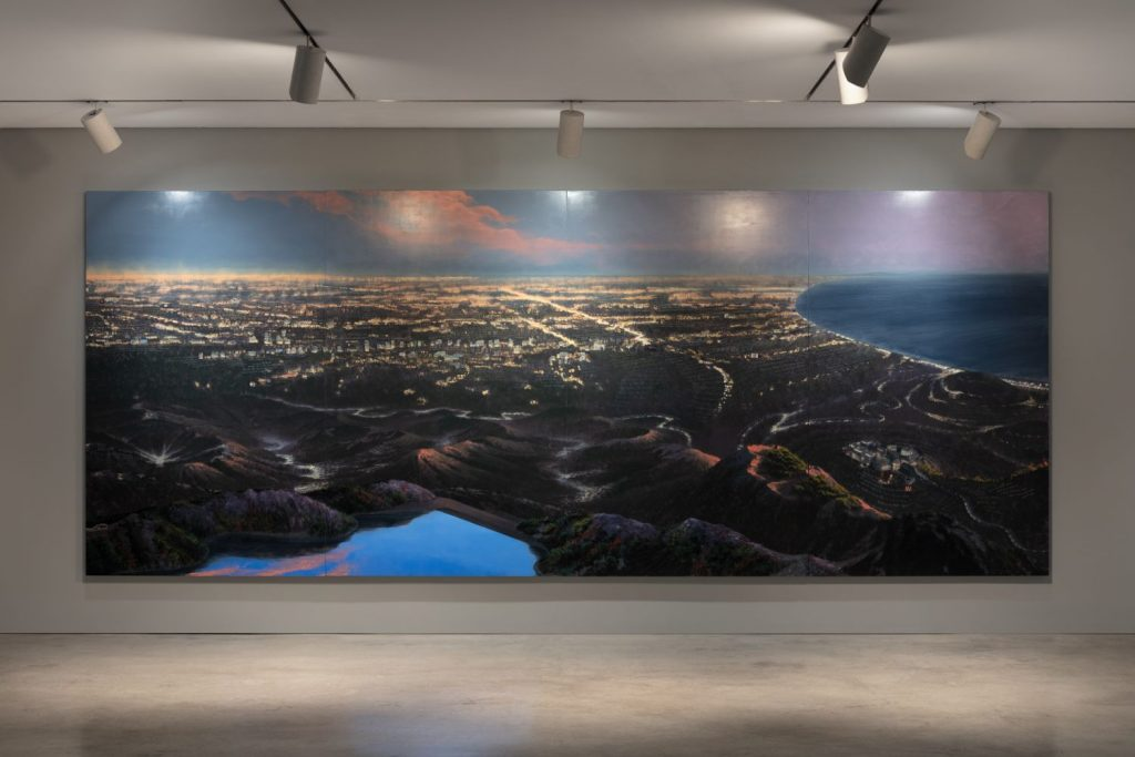 Stephen Hannock, A Recent History of Art in Southern California (Mass Moca #165) (1998–2021). Courtesy of Marlborough Gallery.
