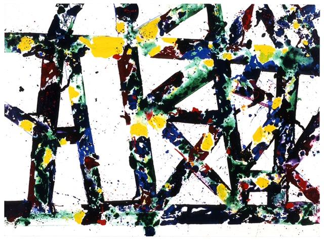Sam Francis, UNTITLED (1978), © 2021 Sam Francis Foundation, California / Artists Rights Society (ARS), NY.