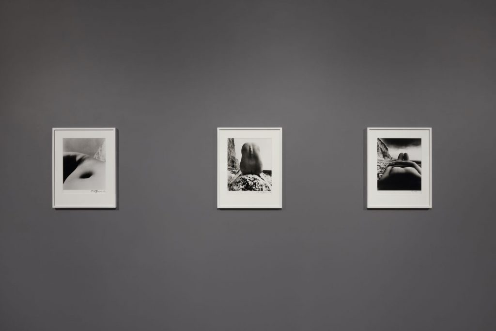 """Installation view of """"Bill Brandt: Perspective of Nudes."""" Photo: Pierre Le Hors, courtesy of Marlborough Gallery."""