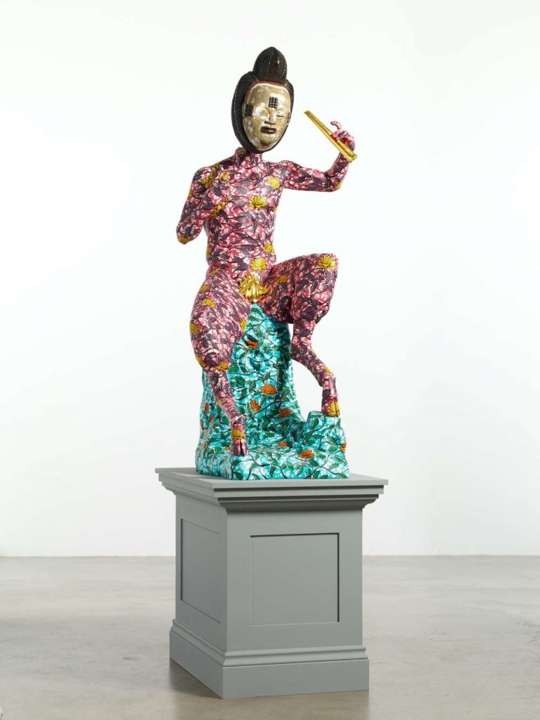 Yinka Shonibare CBE, Pan (2020). Courtesy the artist and Stephen Friedman Gallery, London Photograph by Stephen White & Co.