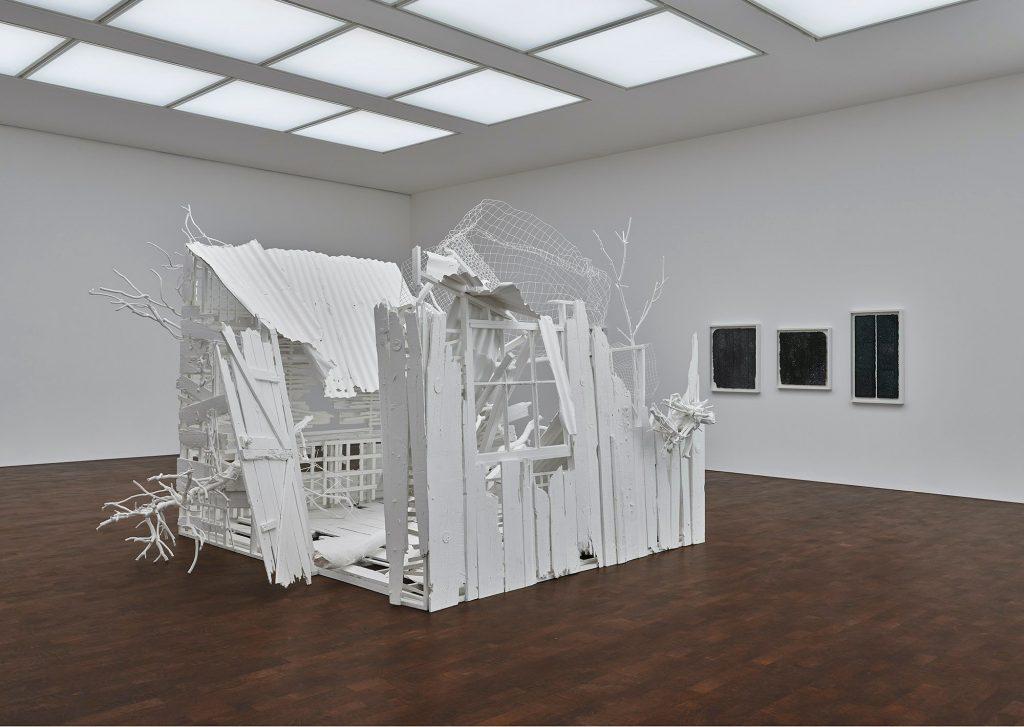 "installation view ""Rachel Whiteread: Internal Objects"" 2021. Courtesy of Gagosian."
