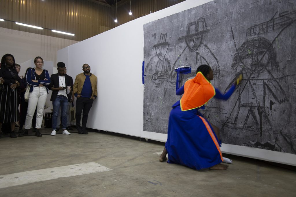 Underline Show, 2019. Photograph by Siphosihle Mkhwanazi.