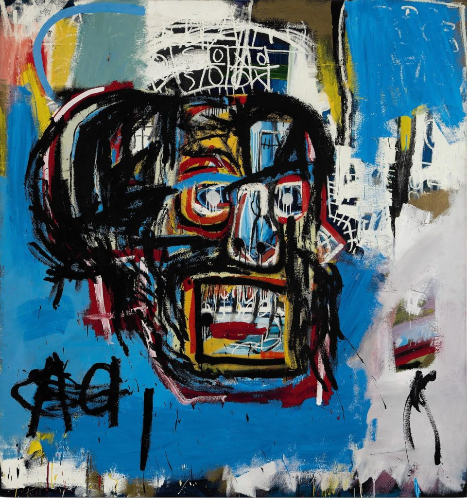 Jean Michel-Basquiat, Untitled (1982). Courtesy of Sotheby's New York.