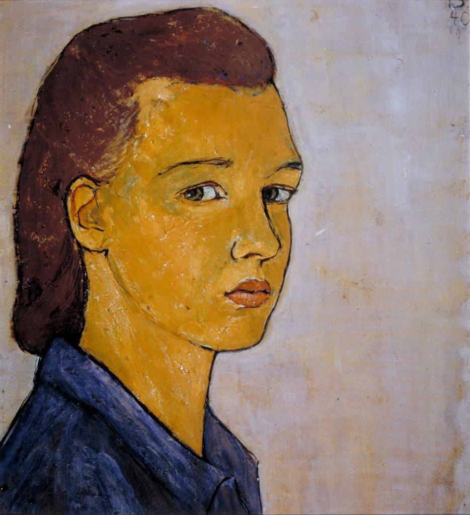 Charlotte Salomon's <i>Self Portrait</i> (1940). Courtesy Jewish Historical Museum, Amsterdam © Charlotte Salomon Foundation.