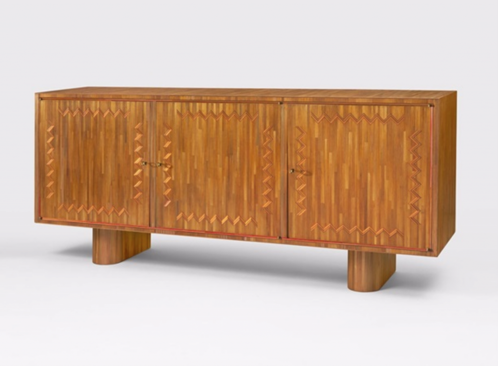 Jean Royère, Sideboard (ca. 1951). Courtesy of Galerie Jacques Lacoste.
