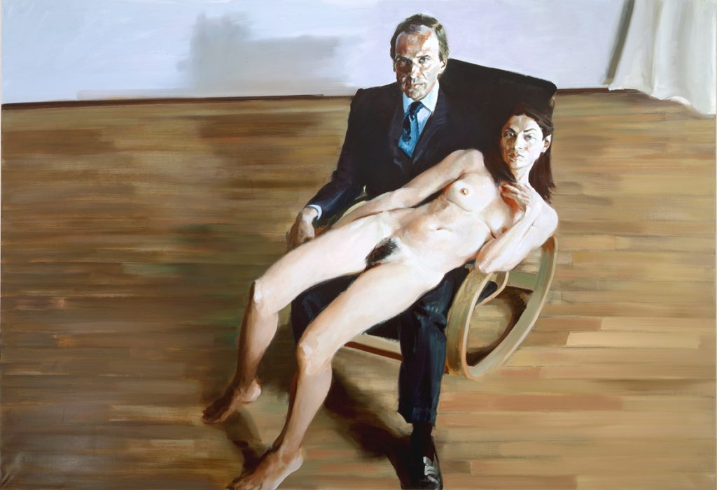Eric Fischl, Simon and Ahn (2003). Courtesy Mary Boone Gallery.