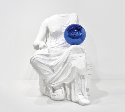 Jeff Koons, <i>Gazing Ball (Demeter)</i> (2014). Photo courtesy of Phillips.