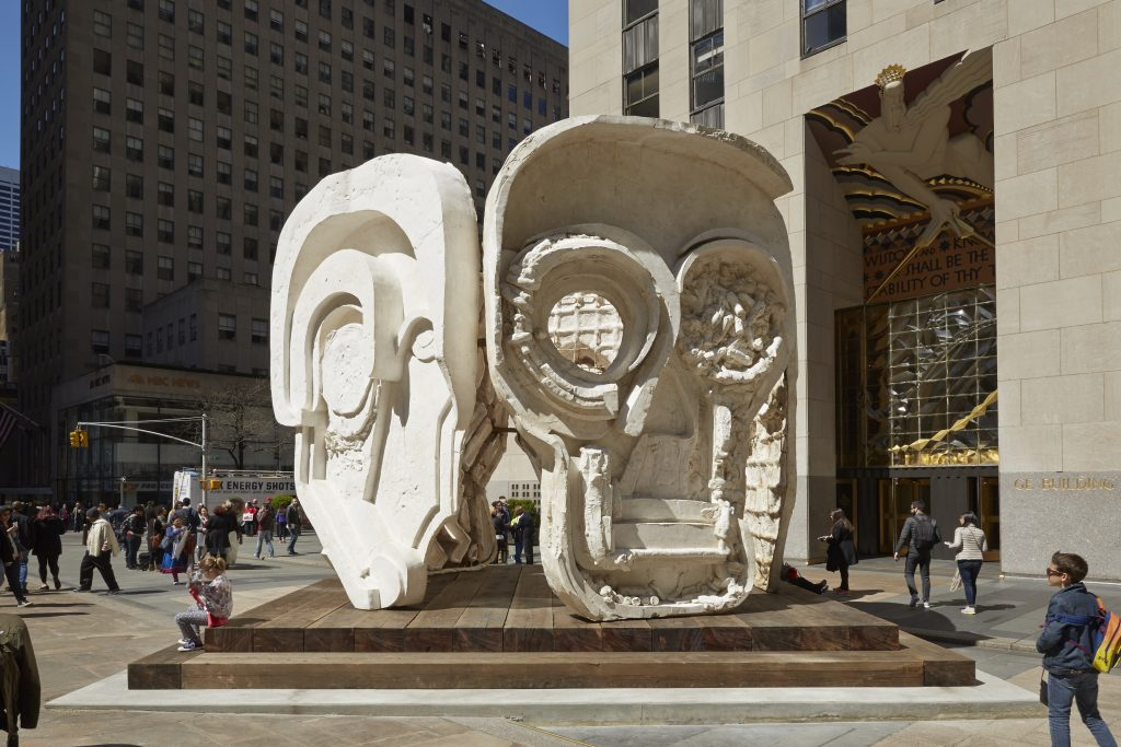 Organised by Public Art Fund and Tishman Speyer On view at Rockefeller Center Plaza, April 28—June 24, 2015. Photo credit: Jason Wyche, Courtesy Public Art Fund, N.Y.