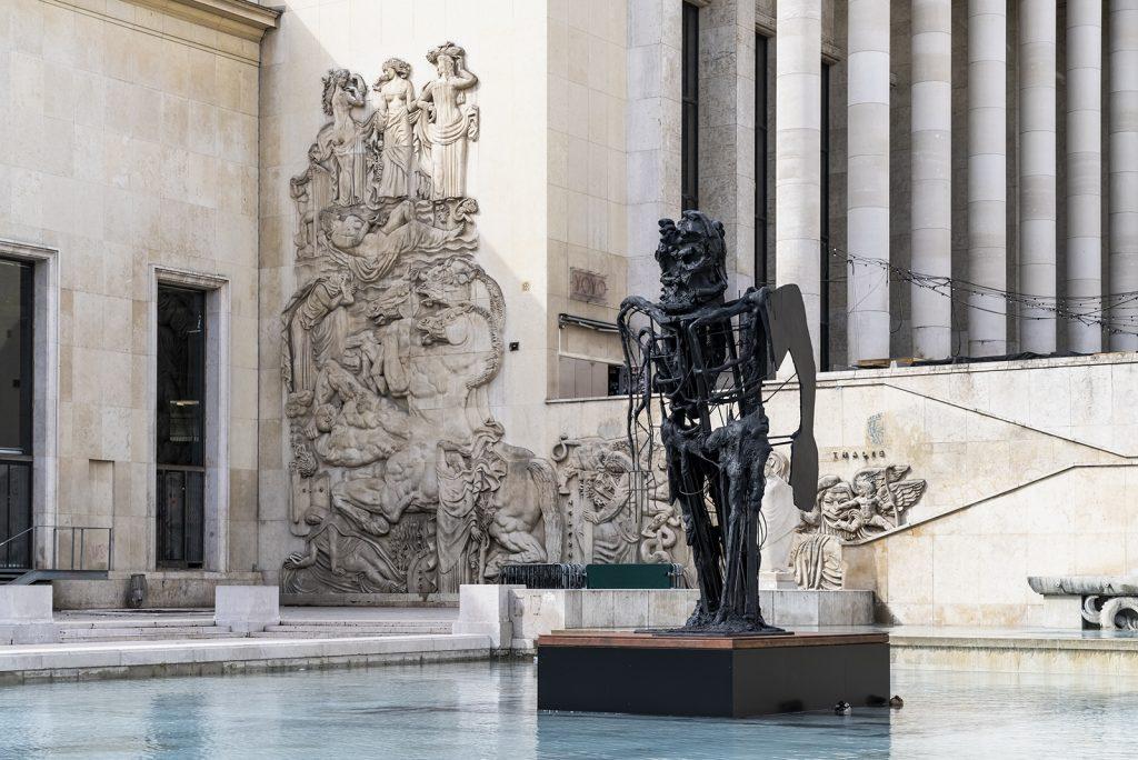 """Installation view """"Almost Human"""" at Musée d'Art Moderne de la Ville de Paris in 2019. Photo credit: Pierre Antoine"""