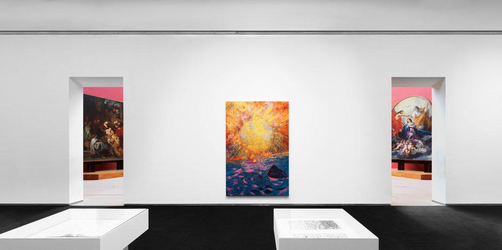 """Vision Paintings"" at the Royal Museums of Fine Arts of Belgium. Photo credit: Allard Bovenberg"