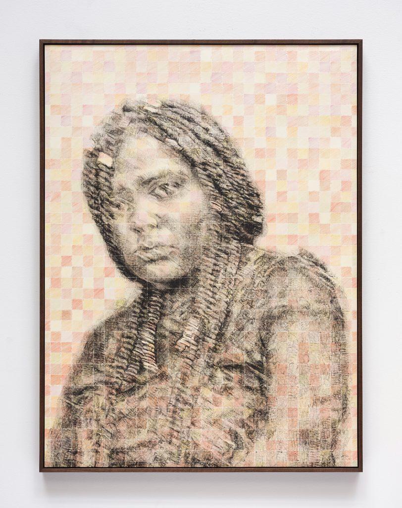 Kenturah Davis, <i>the bodily effect of a color (sam)</i> (2021). © Kenturah Davis. Photo: Fredrik Nilsen Studio. Courtesy of the artist, Matthew Brown Los Angeles, and Gagosian.