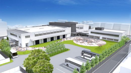 Rendering of the Nintendo Uji Ogura Plant once it has been converted into a museum, tentatively called the Nintendo Gallery. Image courtesy of Nintendo.