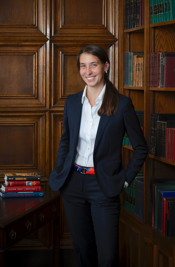Anna Bottinelli, MMF President.