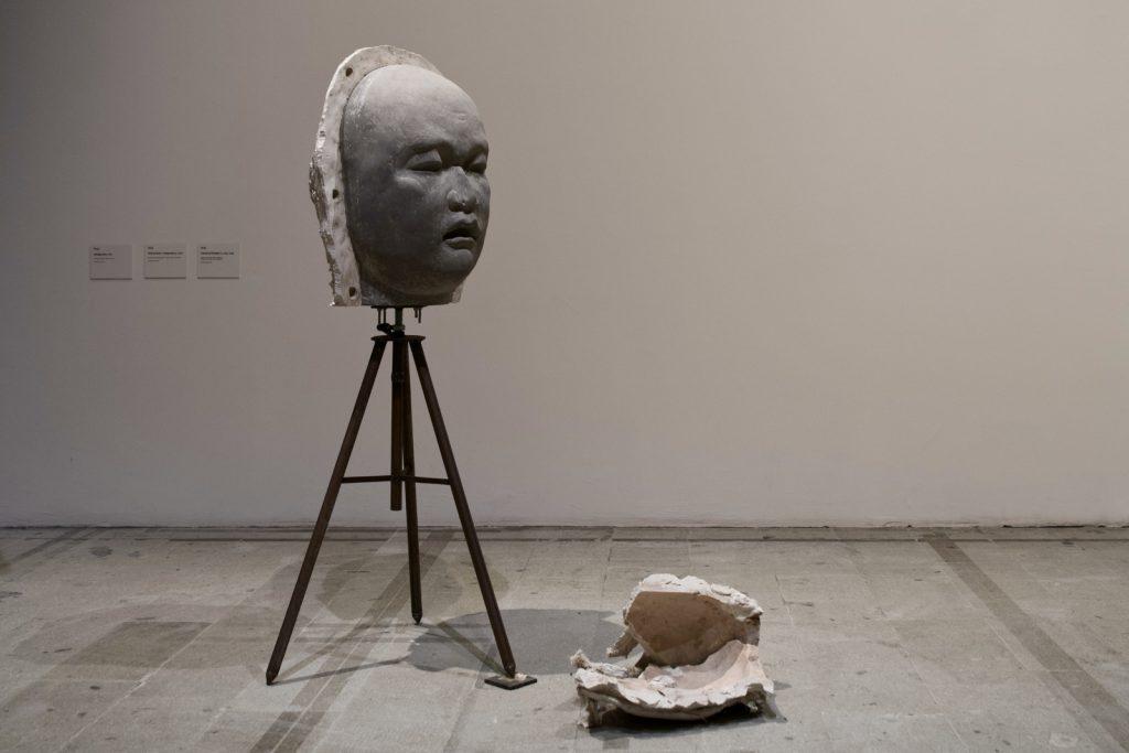 Installation view, Yu Ji, Flesh in Stone–Component #3 (2017) at La Biennale di Venezia, Venice, 2019. Credit: © Yu Ji, courtesy Sadie Coles HQ, London. Photo: 李欣怡 Li Xinyi.