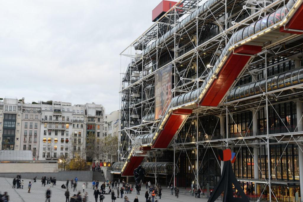 The Centre Georges Pompidou in Paris, 2015. Photo: Frédéric Soltan/Corbis via Getty Images.