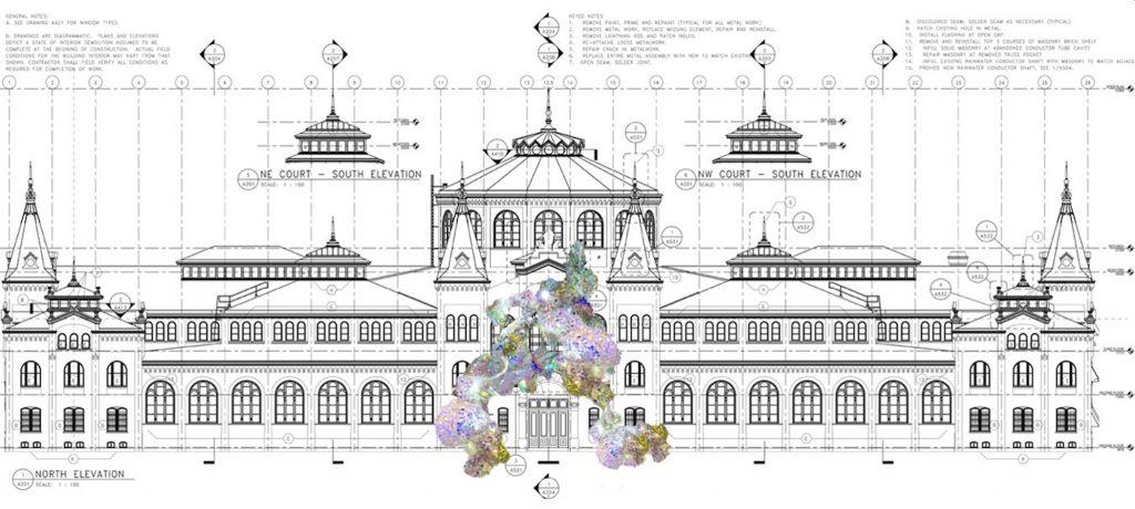 Soo Sunny Park, <em>Expanded Present<em>. Concept Design courtesy of the artist.