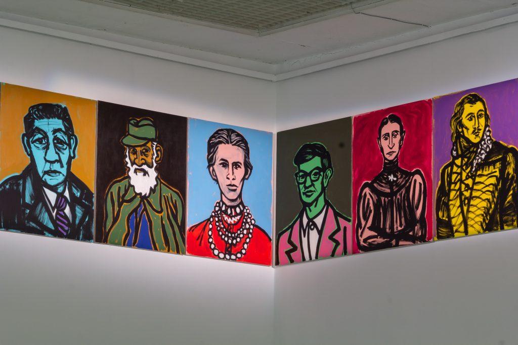 "Karol Radziszewski at the Contemporary Art Center, Vilnius, for the Baltic Triennial 14 ""The Endless Frontier."" Photo: Ugnius Gelguda."