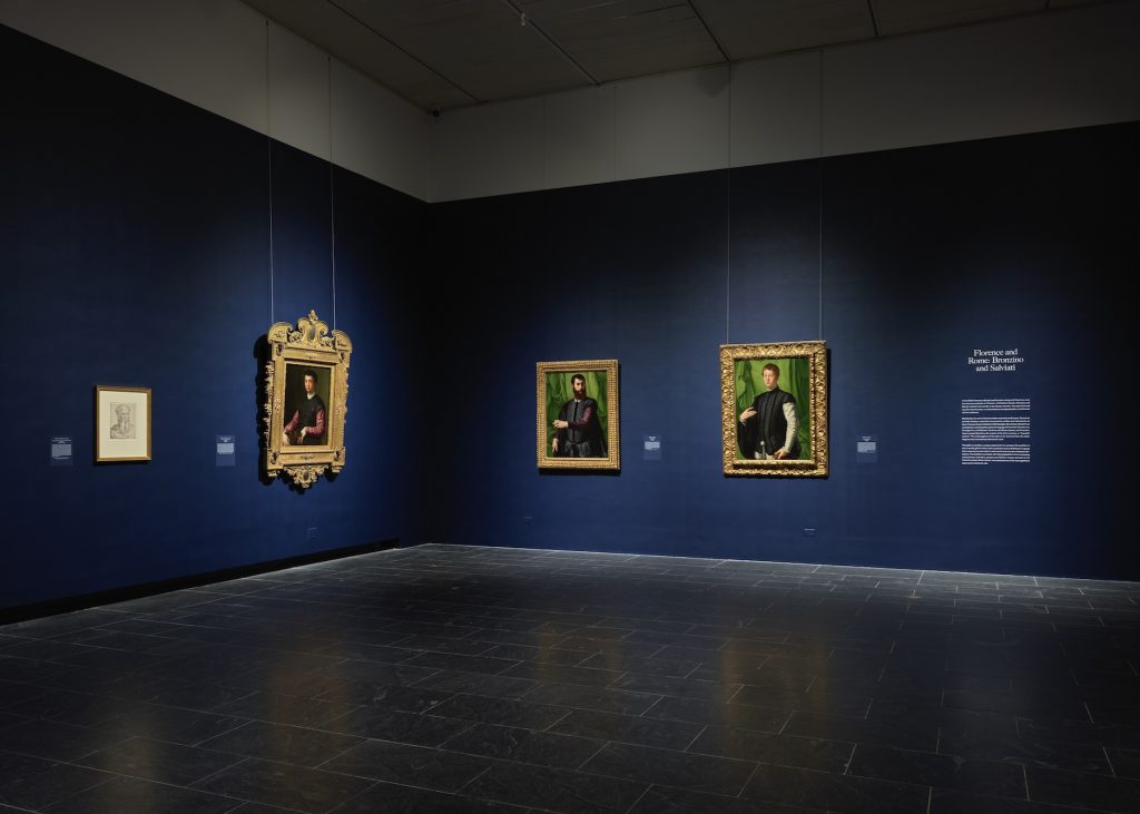 """Installation view of """"The Medici: Portraits and Politics, 1512–1570"""" at The Metropolitan Museum of Art, New York. Photo by Hyla Skopitz, Courtesy of The Met"""