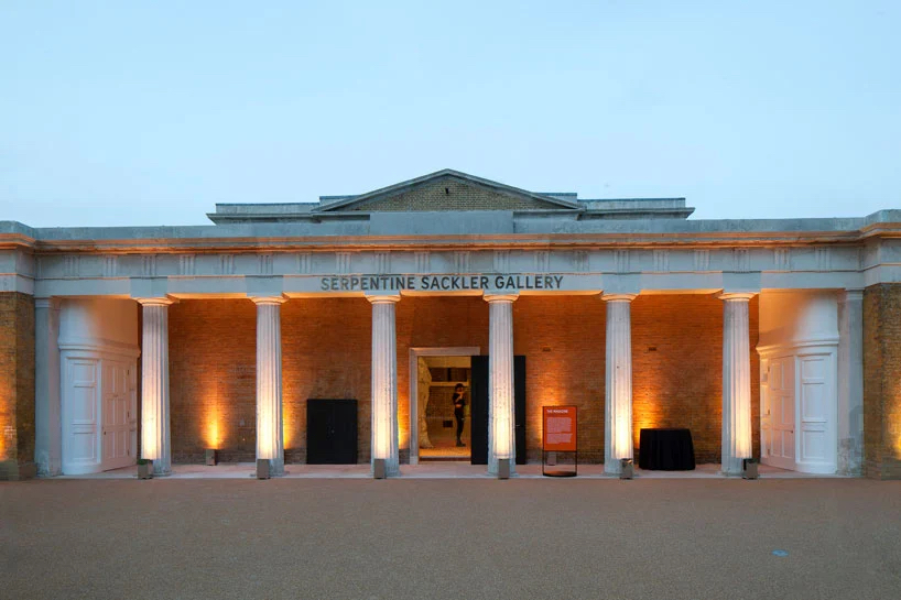 The Serpentine Sackler at its opening in 2013. Photo ©Luke Hayes, courtesy of the Serpentine Galleries.