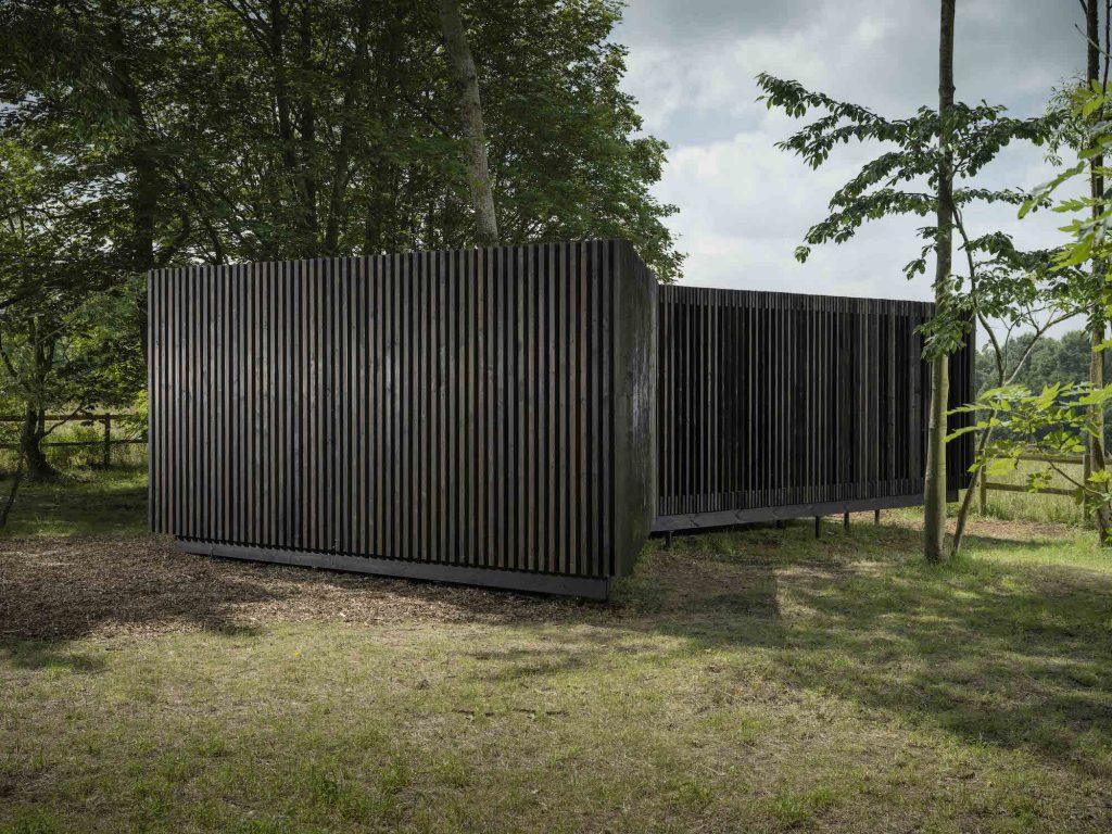 David Adjaye, Horizon Pavilion (2017). Courtesy of Jonty Wilde and Albion Fields.