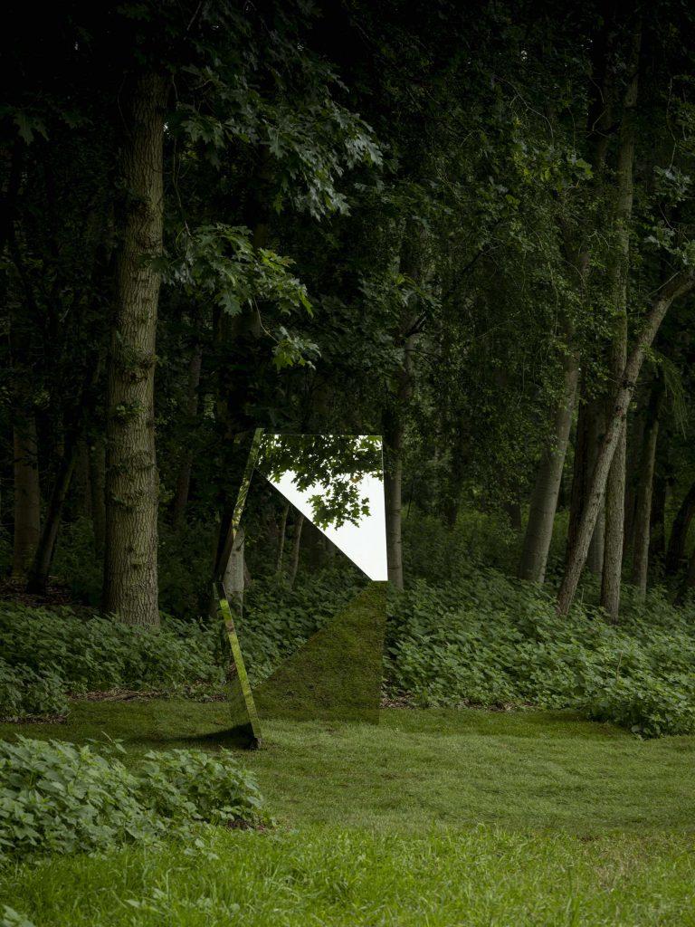 Jeppe Hein, Twisted Geometric Mirror. Courtesy of Jonty Wilde, the artist and Konig Galerie.jpg