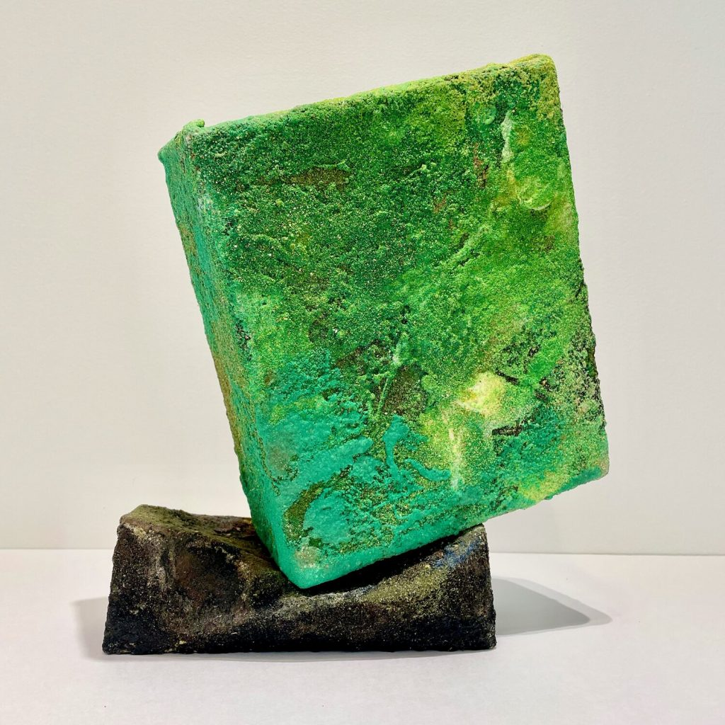 Mark Van Wagner, <em>Greenie</em> (2020). Photo courtesy of Marquee Projects.