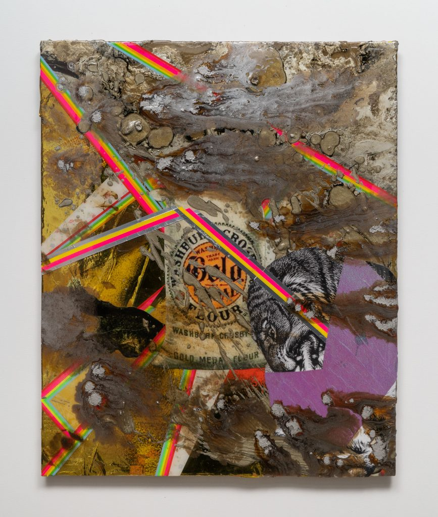 Delano Dunn, <em>Untitled (Flour)</em>, 2020. Courtesy of Brattleboro Museum and Art Center, Vermont.