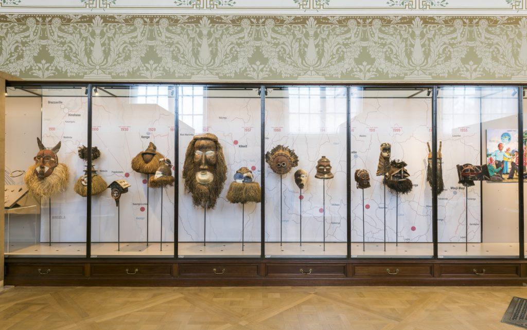 A view from the gallery Rituals and Ceremonies © RMCA, Tervuren, photo Jo Van de Vijver