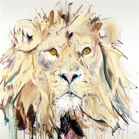Dave White, Lion II. Courtesy of ART LOFT Gallery.