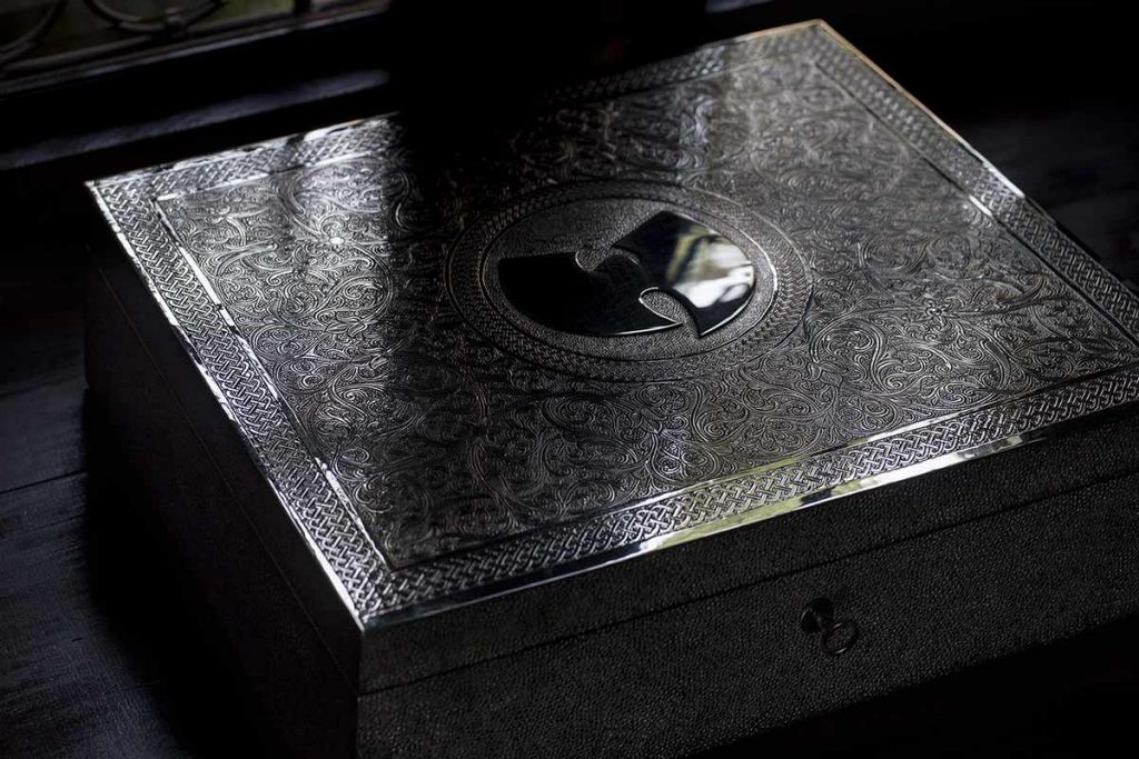 The Wu-Tang Clan's one-of-a-kind album Once Upon a Time in Shaolin. Photo courtesy of Paddle8.