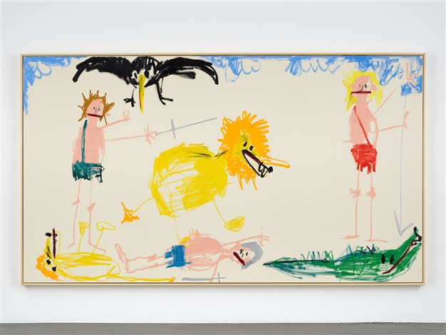 Andi Fischer, OH OH ENDKAMPF (2019). Courtesy of Sies + Höke Galerie.