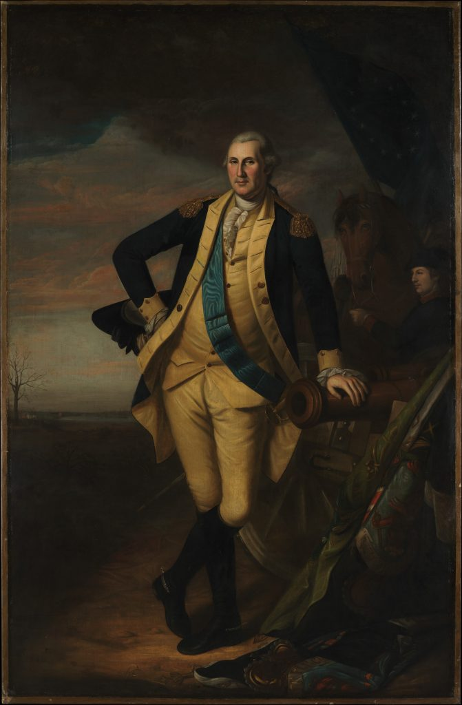 Charles Willson Peale, George Washington (ca. 1779–81). Collection of the Metropolitan Museum of Art.