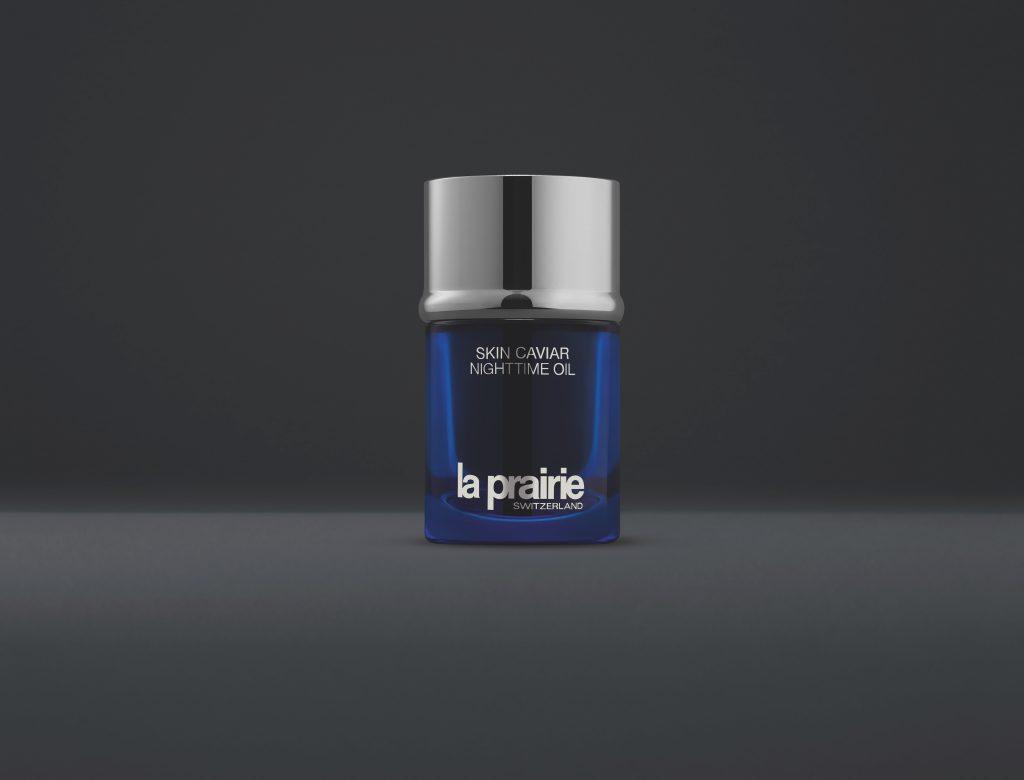 La Prairie's Nighttime Oil from the Skin Caviar collection. Photo courtesy La Prairie.