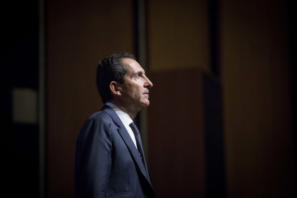 Patrick Drahi, Sotheby's new owner, in 2016. (Photo by Christophe Morin/IP3/Getty Images)