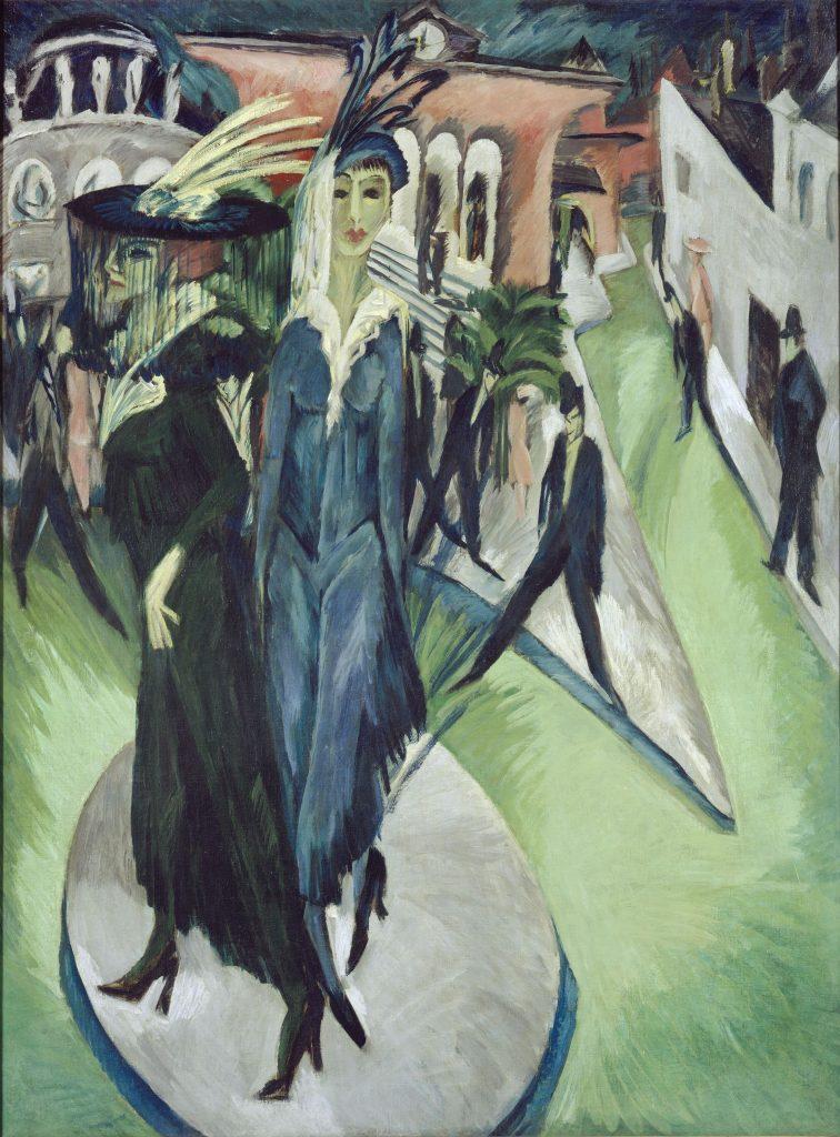 Ernst Ludwig Kirchner, <i>Potsdamer Platz</i> (1914). © Nationalgalerie – Staatliche Museen zu Berlin / Jörg P. Anders