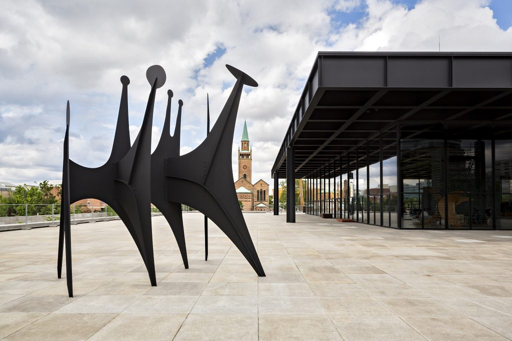 """Alexander Calder from the exhibition """"Minimal / Maximal"""" at the Neue Nationalgalerie Berlin."""