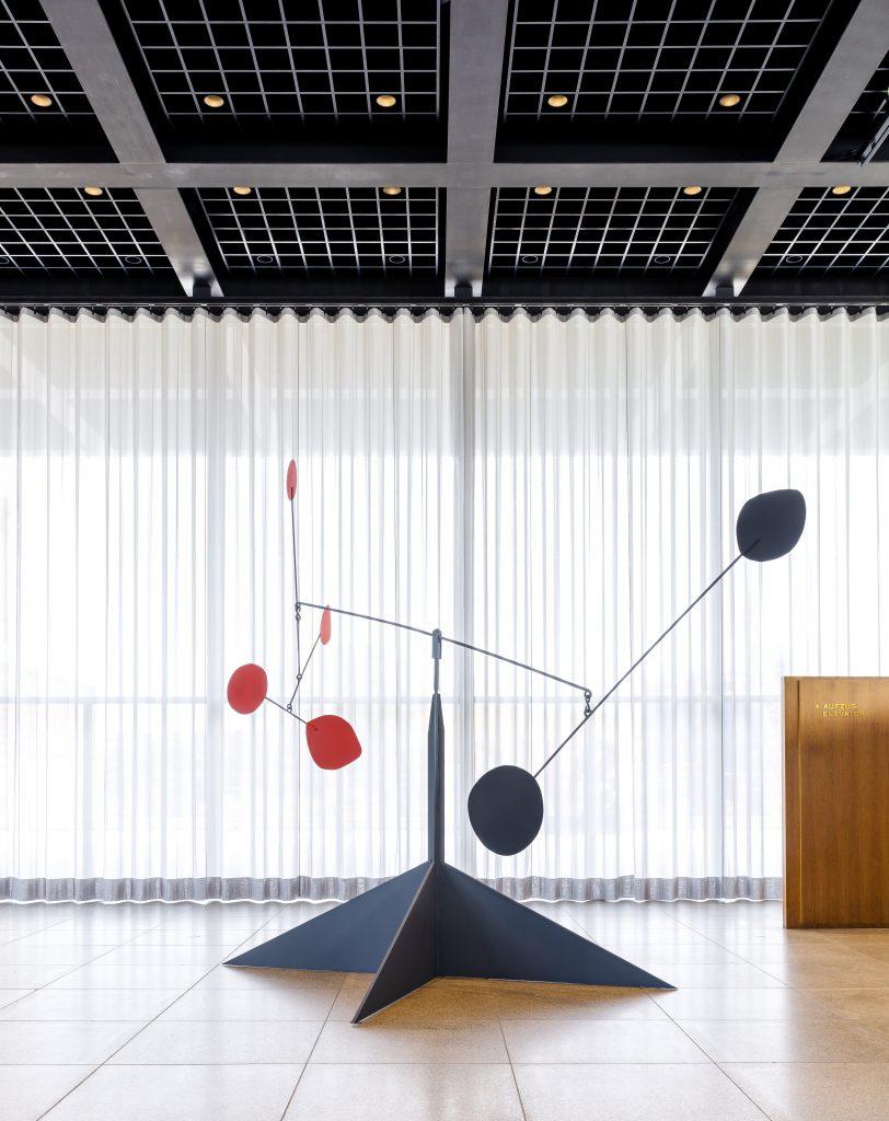 Alexander Calder <i>Untitled</i> (1954). Calder Foundation, New York; Gift of Andréa Davidson, 2007. © 2021 Calder Foundation, New York / Artists Rights Society (ARS), New York. VG-Bildkunst, Bonn 2021 / Photo by David von Becker