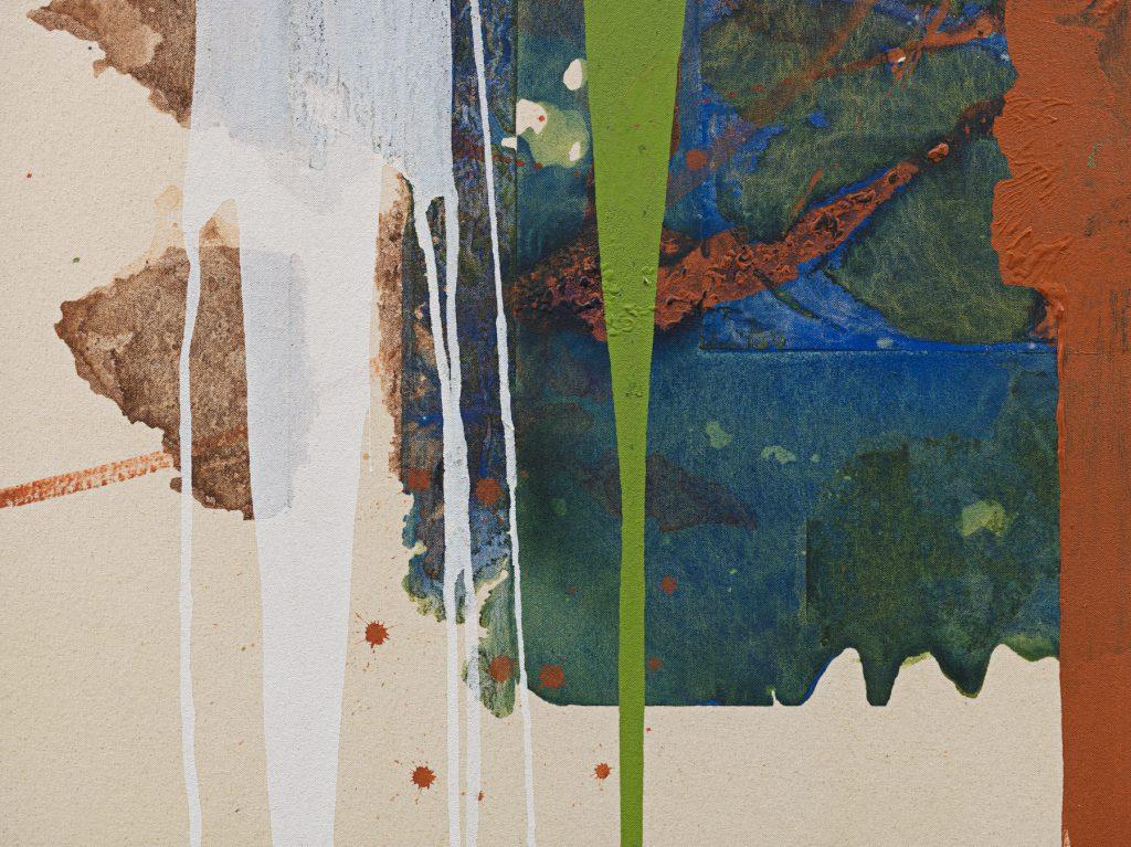 Elizabeth Neel, Following the Birds (2021), detail. Photo by Genevieve Hanson, courtesy of the artist and Salon 94, New York, ©Elizabeth Neel.