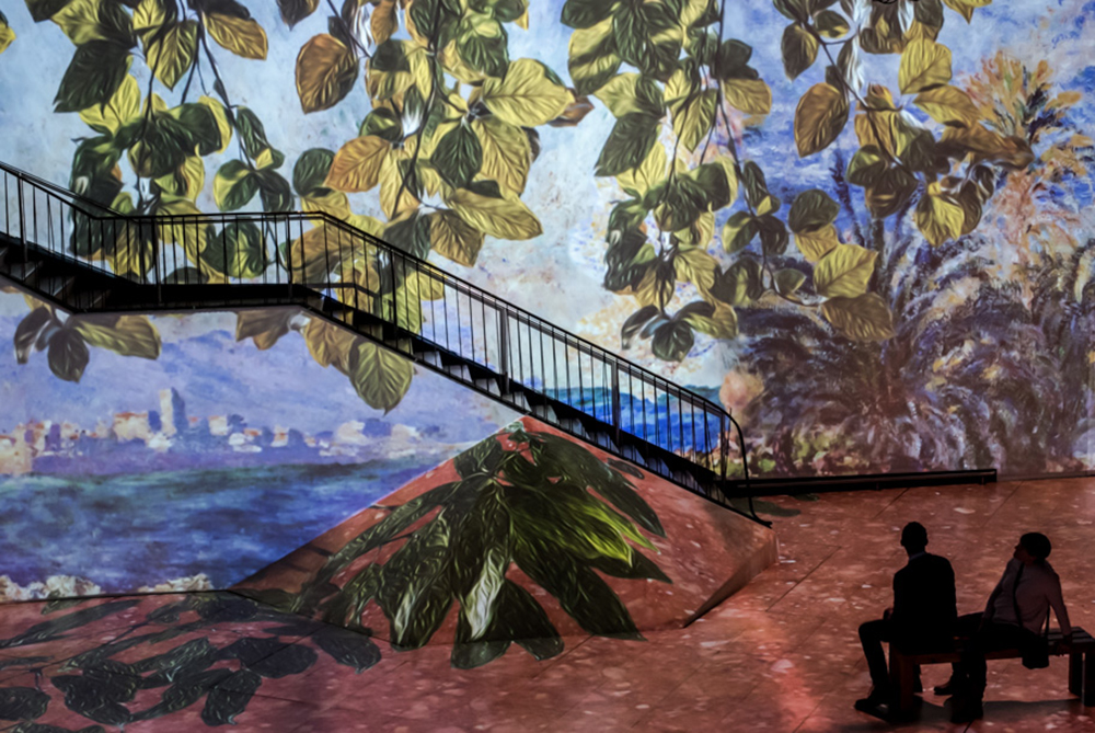 """""""Monet: The Immersive Experience"""" in Brussels. Photo courtesy of Exhibition Hub and Fever."""