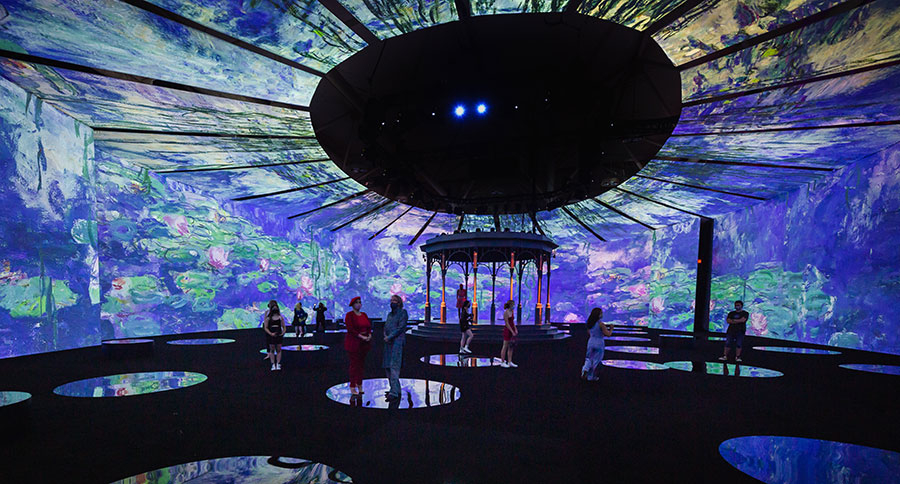 """""""Beyond Monet"""" in Toronto. Photo courtesy of Paquin Entertainment Group."""